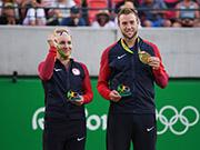 2016里约奥运会网球混双决赛比丹妮/杰克VS大威/拉吉夫比赛视频