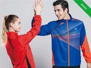 温暖入冬,胜利新品羽毛球服让你燥起来!