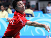 泰国羽球赛1/8决赛赛果:黄宇翔出局 张楠双线奏凯