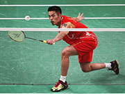 2017年马来西亚羽毛球公开赛中国队参赛运动员名单