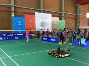 羽毛球比赛机器人再次落败 想取胜恐怕得到2025年