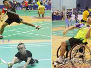全国残疾人羽毛球锦标赛落幕 重庆陈良华获1金2银