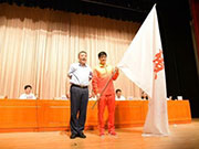 第13届全运会广东代表团成立 傅海峰获授旗并讲话