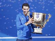2017中国网球公开赛决赛 纳达尔时隔12年再度摘冠