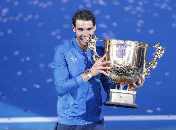 中網公開賽納達爾喜封王 稱贊對手很難打未來難測
