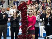 哈勒普如愿登顶世界第一 其成就更获得WTA主席赞扬