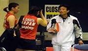 日羽女双华裔教练丁其庆谈尤杯 注重打法守中反攻有奇效