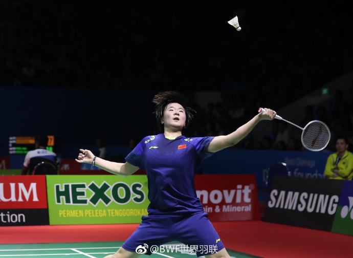 印尼赛石宇奇完胜进半决赛 女单两金花力克世界好手