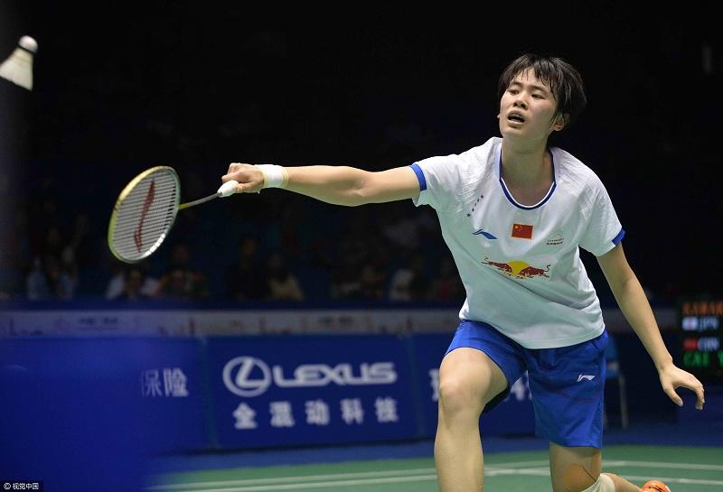 2018新加坡羽毛球公开赛派小将练兵 国羽喜忧参半