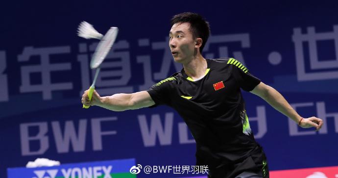 世锦赛国羽男单三人跻身16强 黄宇翔遭卫冕冠军淘汰