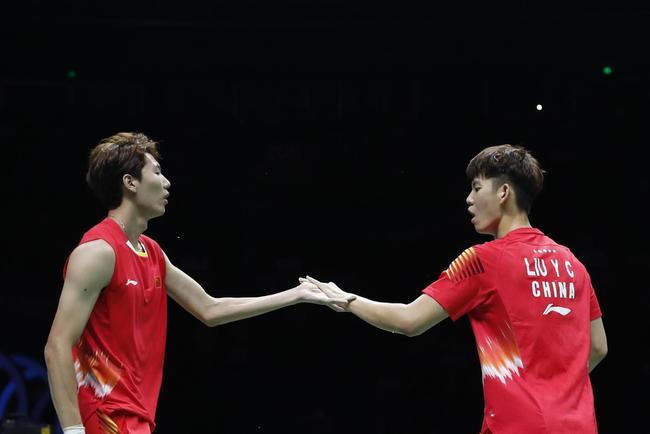 世锦赛国羽获两项冠军 双塔横扫日本组合加冕男双