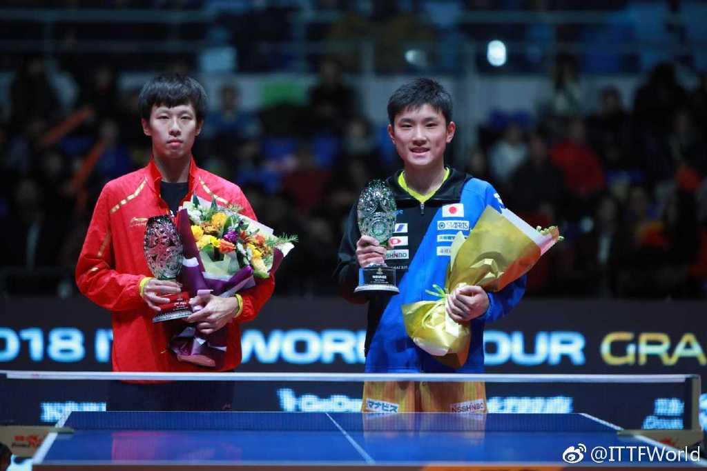 林高远1-4惨败居亚 张本智和成乒联总决赛最年轻冠军