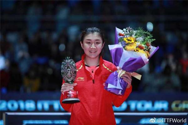2018乒聯總決賽決賽結果 日本隊兩金國乒包攬女單冠亞軍