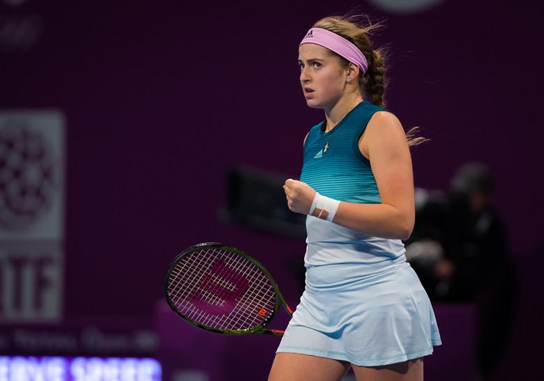 卡塔爾賽7號種子爆冷一輪游 前法網冠軍進次輪戰斯維托麗娜