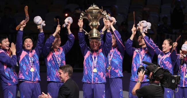 世界羽联:2019苏迪曼杯32支参赛球队确定 亚洲占一半