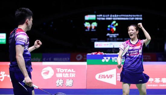 谌龙不敌安赛龙 中国3-1力克丹麦晋级苏迪曼杯四强