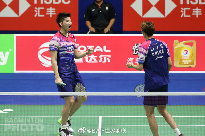 蘇杯決賽李俊慧/劉雨辰男雙取勝 中國隊1-0領先日本