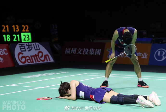 中羽赛1/4决赛国羽男单男双全军覆没 女单仅剩陈雨菲