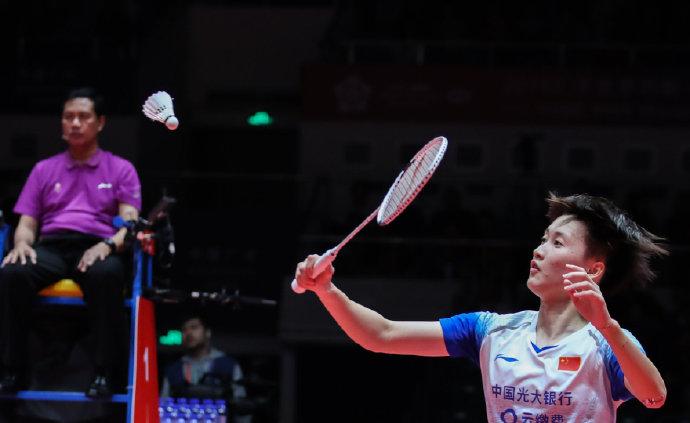 陈雨菲赢德比 携何冰娇晋级马来西亚大师女单四强