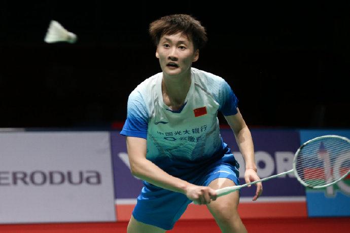 陳雨菲跨賽季20連勝告終 印尼大師賽首輪爆冷出局
