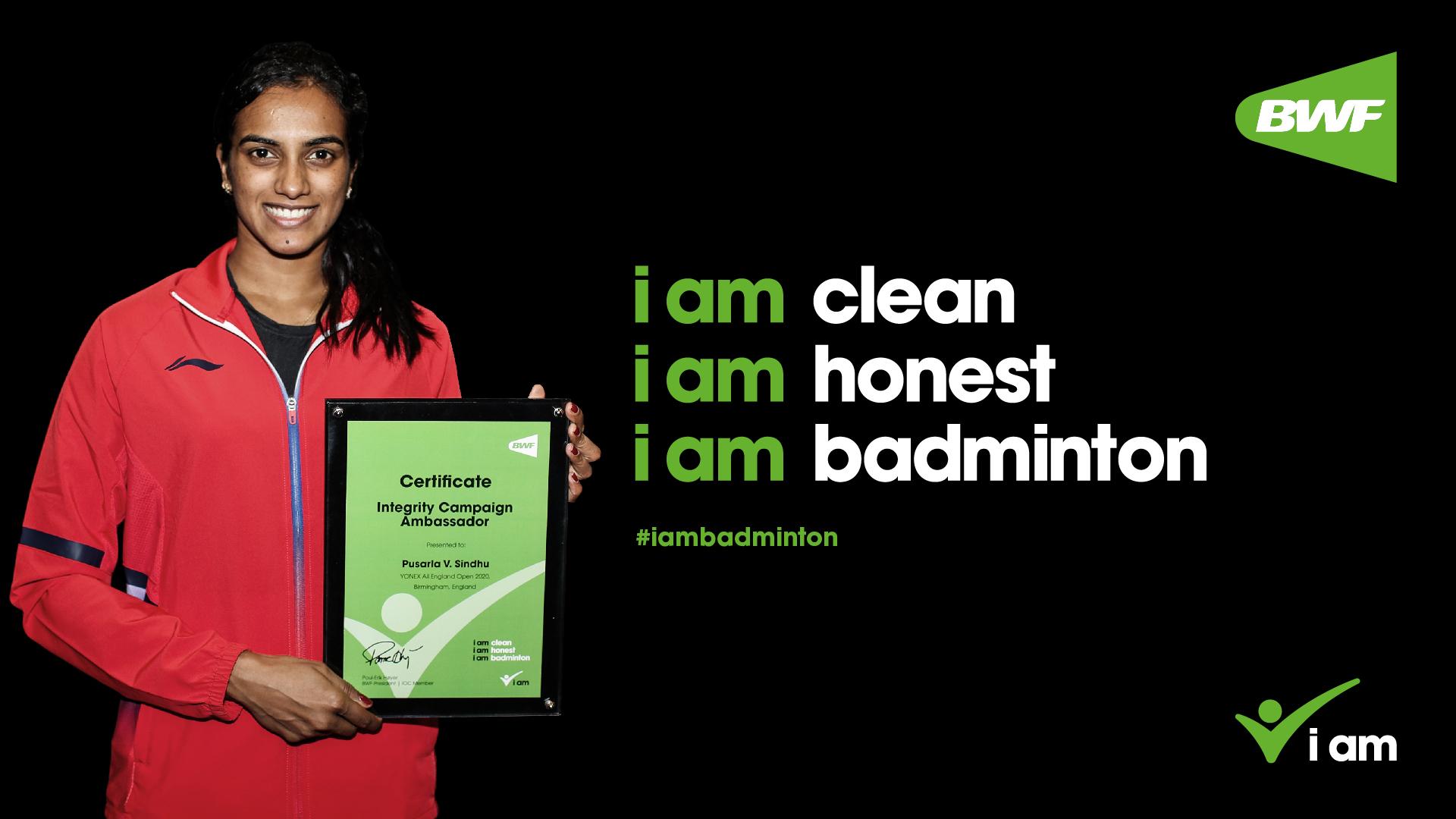 世界羽联推出'我是羽毛球'活动新大使 雅思入选