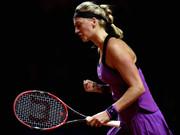 WTA回顾2016斯图加特赛:科维托娃三盘击败穆古鲁扎