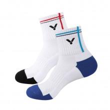 胜利 VICTOR SK112 运动男袜 中筒 包裹 透气