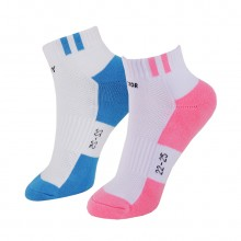 胜利 VICTOR SK223 女款羽毛球袜 运动袜 短袜 透气 包裹设计