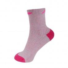 李宁 AWSK152 女款羽毛球袜 运动袜 中筒 舒适升级