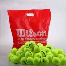 Wilson维尔胜/威尔胜网球 WRT1360 耐用训练用球 60粒袋装