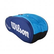 维尔胜 Wilson WRZ840409 双肩网球拍背包 9支装拍包 超大容量 费德勒代言品牌