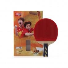 紅雙喜 三星級乒乓球拍 3007 長反膠直拍