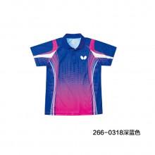 蝴蝶 乒乓球服 Butterfly 男女同款 运动T恤 吸汗速干 BWH-266