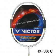 胜利 VICTOR HX-500 羽毛球拍 犀利进攻 全面掌控 HX500P HX500C