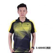 胜利VICTOR 男女羽毛球服 马来西亚大赛服TD版S-6004 6104【胜利特惠清仓】