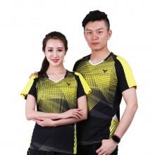 胜利VICTOR 男女款羽毛球服 马来西亚国家队大赛服6002 6102【胜利特惠清仓】