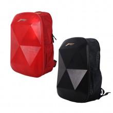 李宁 ABSL306-1/-2 双肩背包 羽毛球包 时尚休闲硬质背包 抗刮防撞