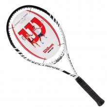 Wilson維爾勝/威爾勝Exclusive系列網球拍T5966 玄武巖纖維 白色