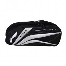 李宁 ABJL078-2 3支装羽毛球包 谌龙签名款 独立鞋袋设计