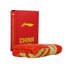 李宁 AMJJ012-1 运动毛巾 吸汗毛巾 棉质毛巾 快速吸汗