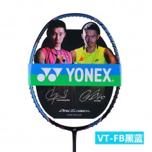 尤尼克斯YONEX VT-FB 羽毛球拍 黑蓝黑绿 轻量球拍 扎实手感扣杀型【特卖】