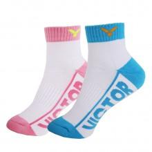 胜利 VICTOR SK235 女款羽毛球袜 运动袜 透气 包裹设计 两色可选