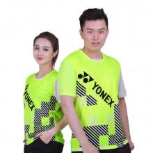 尤尼克斯 YONEX 男女羽毛球服 舒适大方 110337 210337绿