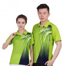 尤尼克斯YONEX 男女羽毛球服 有领T恤 110057 210057绿【特惠清仓】
