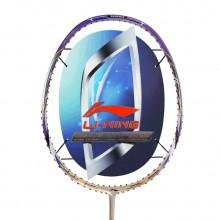 李宁 N55三代 羽毛球拍 N55III 紫色版 风动导流增速 如虎添翼 AYPH148
