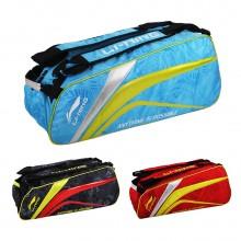 李宁 ABJL072 六支装羽毛球包 独立鞋袋设计 双肩背带 多色可选