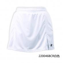 尤尼克斯YONEX 女款羽毛球裤裙 运动短裙220046 内有打底安全裤【特惠清仓】