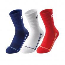 尤尼克斯YONEX 145057BCR 男款羽毛球袜 运动袜 舒适透气
