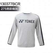 尤尼克斯 YONEX 男女卫衣运动长袖 柔和亲肤 发热印设计 130377/230377BCR