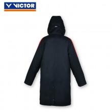胜利VICTOR 中长款男款棉衣 J-5272 正品保暖 连帽大衣